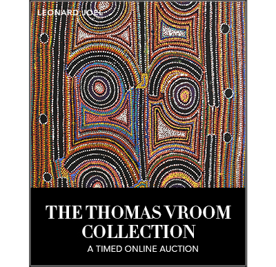 A Timed Online Auction: The Thomas Vroom Collection,