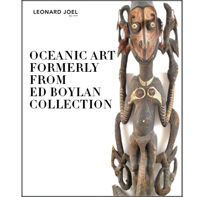 Oceanic Art formerly from Ed Boylan Collection,