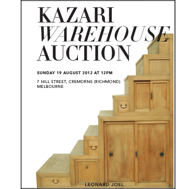 The Kazari Warehouse Auction,