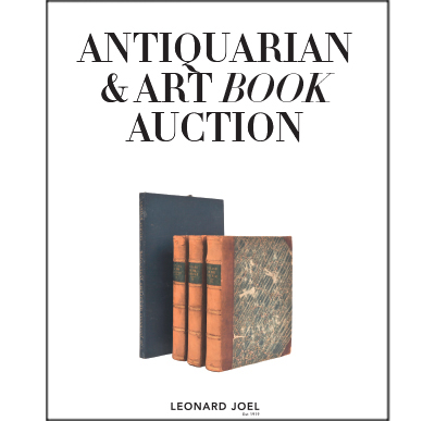 Antiquarian & Art Book Sale,