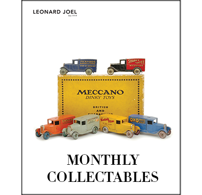 Monthly Collectables Sale,