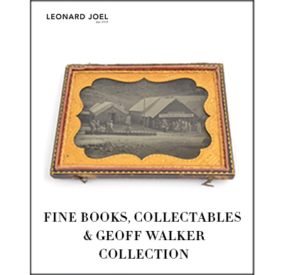 Fine Books,Collectables& Geoff Walker Collection,