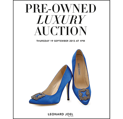 Pre-Owned Luxury Auction,