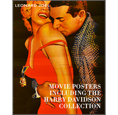 Movie Posters Incl The Harry Davidson Collection,