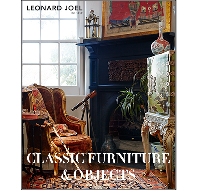 Classic Furniture, Objects & Collectables,