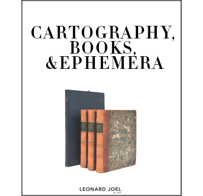 Cartography, Books & Ephemera,