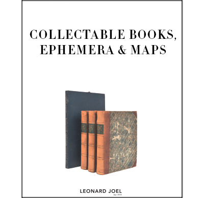 Collectable Books, Ephemera & Maps,