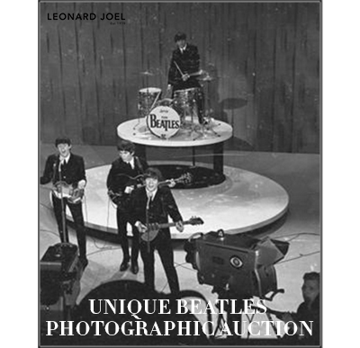 Unique Beatles Photographic Auction,