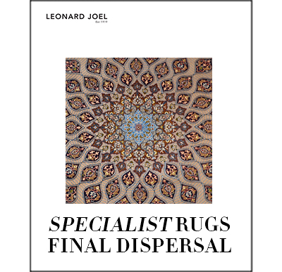 Specialist Rug Auction: Final Dispersal,
