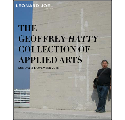 The Geoffrey Hatty Collection of Applied Arts,