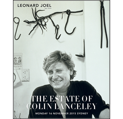 The Estate of Colin Lanceley,