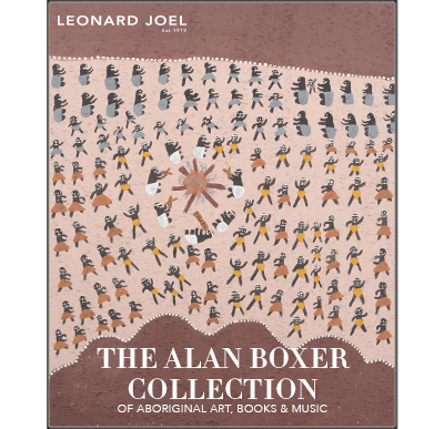 The Alan Boxer Collection (A Largely Unreserved Auction),