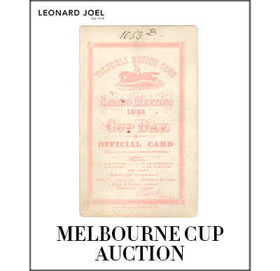 Melbourne Cup Auction,