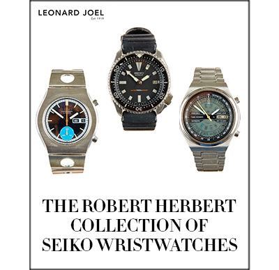 The Robert Herbert Collection of Seiko Wristwatches & Associated Items,