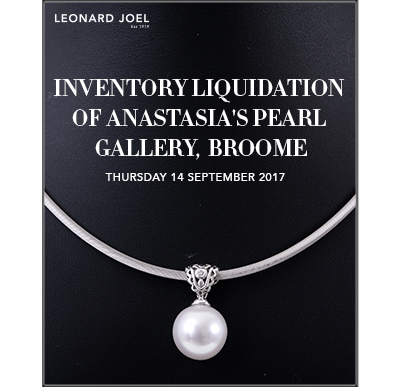 Inventory Liquidation of Anastasia's Pearl Gallery, Broome,