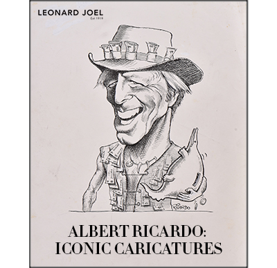 Albert Ricardo: Iconic Caricatures,