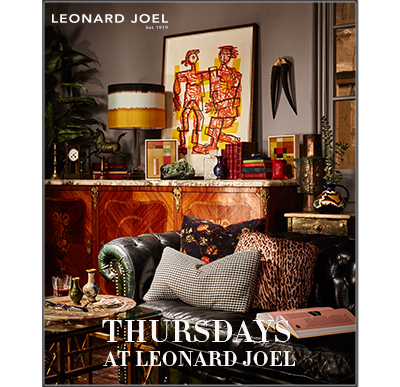 Thursdays at Leonard Joel - FURNITURE, Session 1: Lots  1001  to 4000