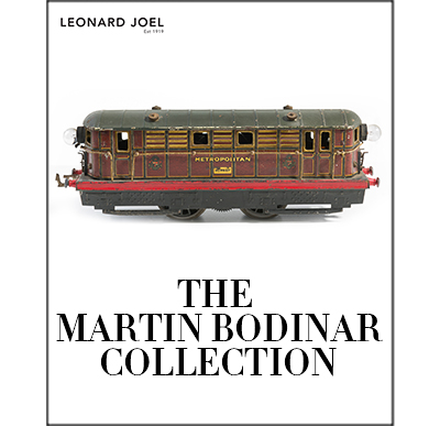 The Martin Bodinar Collection of Model Trains and Engines,